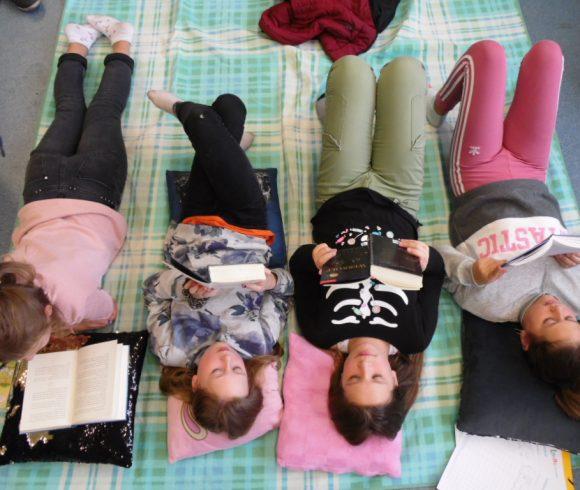 Unsere Schüler lesen für Unicef….