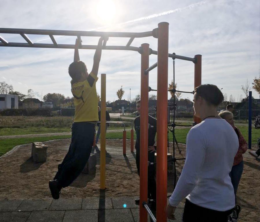 Eröffnung des Outdoor-Sportparks