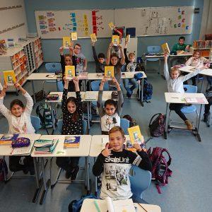 Buchspende für alle Klassen