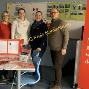 Wir sind für den Deutschen IQ Preis nominiert!