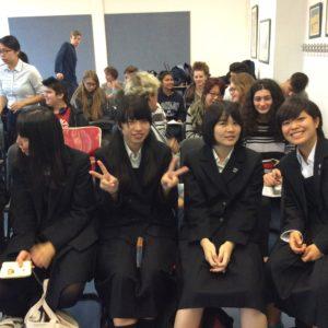 Besuch der japanischen Schüler verschoben!