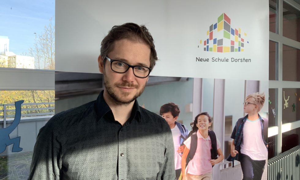 Yves Podlech – neuer Abteilungsleiter in unserem Schulleitungsteam