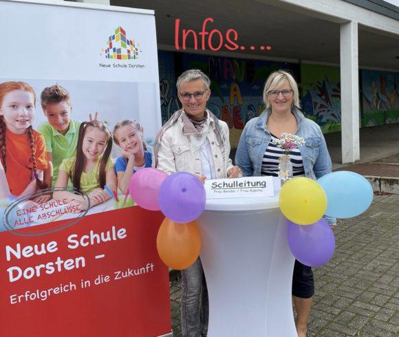 Infoveranstaltung für Eltern, deren Kinder von der Grundschule an die weiterführende Schule wechseln…